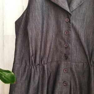 Lane Bryant Dresses - Lane Bryant Denim like Dress